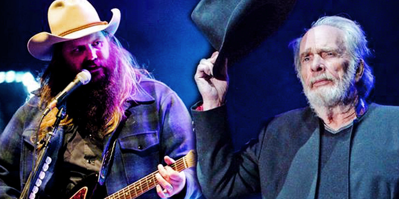 Chris Stapleton Pays Tribute to Merle Haggard With 'Silver Wings'