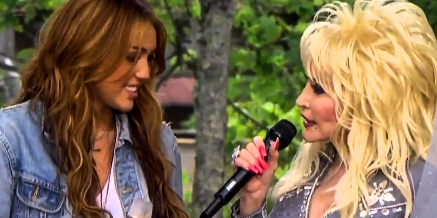 Can Miley Cyrus Keep Up Onstage with Dolly Parton?