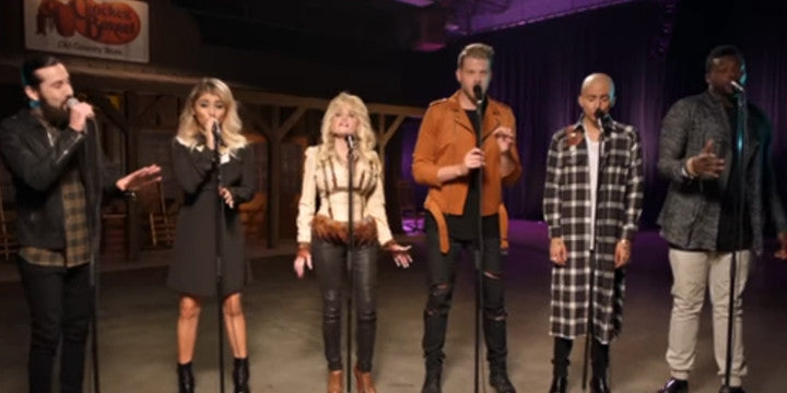 What Happens When Dolly Parton Sings with One of Music's Hottest New Groups?  Total Magic!