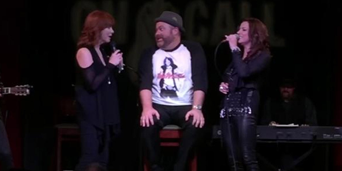Reba McEntire and Martina McBride Give Him The Performance Of A Lifetime!