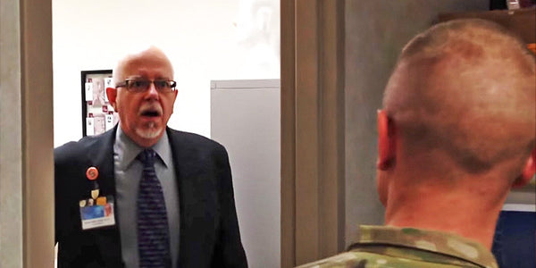 Try Not to Cry at This Surprised Reunion Between a Returning Soldier and His Astonished Father