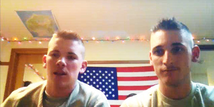These Soldiers Singing a Randy Travis Tune Will Make You Want to Reach into Your Screen and Hug Them!