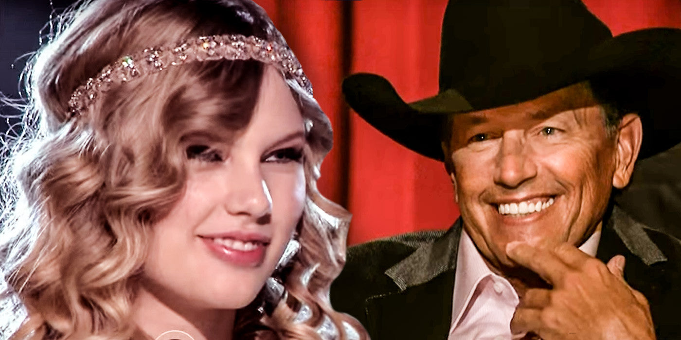 Taylor Swift Does An Amazing Rendition of 'Run' for George Strait