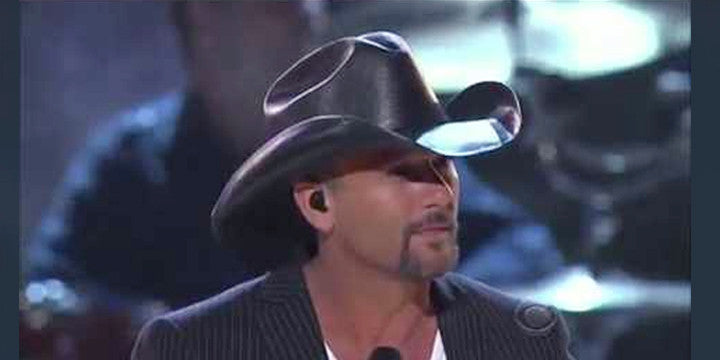 We Couldn't Help Our Emotional Response When Tim McGraw Paid Homage to George Strait