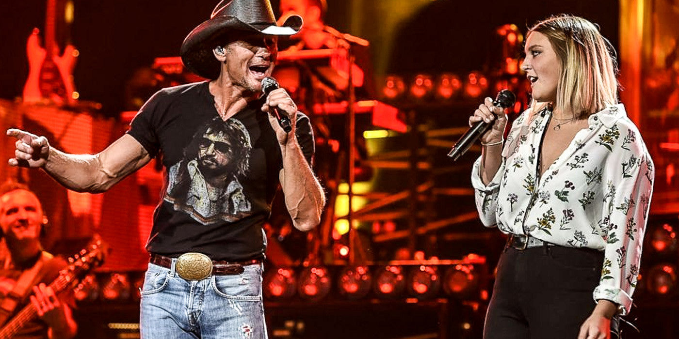 Tim McGraw and His Daughter, Gracie, Perform a Spirited Duet