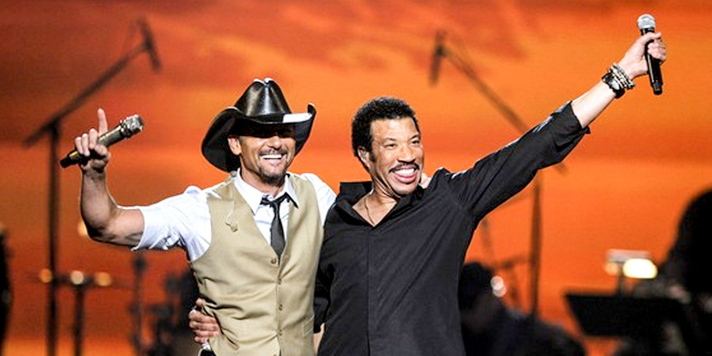 We Can't Get Enough of This Inspiring Moment When Tim McGraw Performs With Lionel Richie
