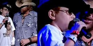 Toby Keith Never Expected This Cute Kid To Steal His Spotlight During a Show