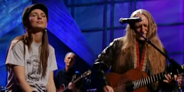 Shania Twain Joins Willie Nelson for an Unforgettable Cover of This Classic Ballad