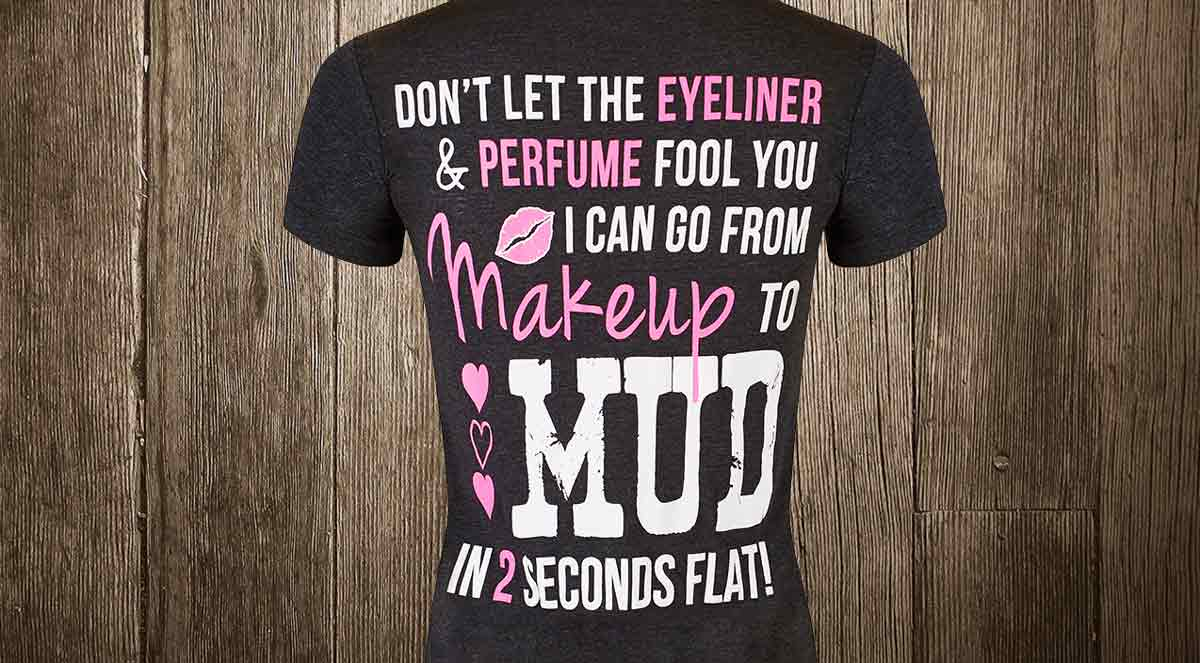 eyeliner and perfume makeup to mud in 2 seconds v-neck