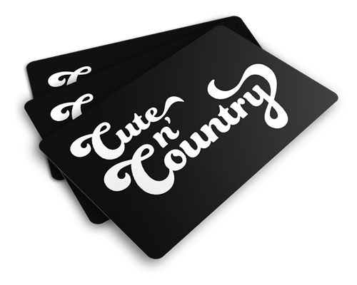 Gift Certificate $10.00, Gift Card - Cute n' Country, Cute n' Country