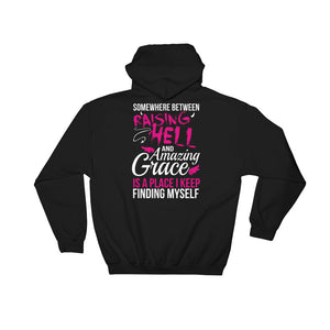 Angel Eyes + Raising Hell Amazing Grace - Hoodie