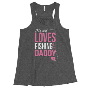 This Girl Loves Fishing With Her Husband - Tank Top