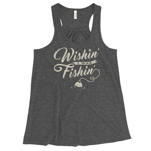 Wishin' I Was Fishin' - Tank Top