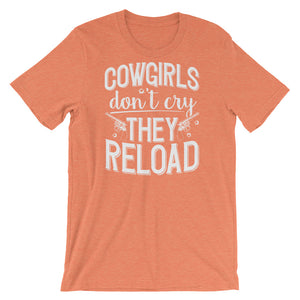 Cowgirls Don't Cry They Reload T-Shirt