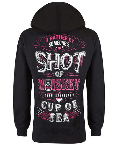 Hoodie: Someone's Shot of Whiskey Small / Black, Hoodies - Cute n' Country, Cute n' Country  - 1