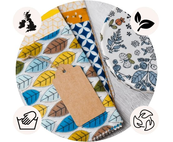 Beeswax_Wraps_Features - Green_Bee
