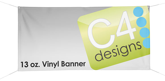 Vinyl Banner  - Single Sided