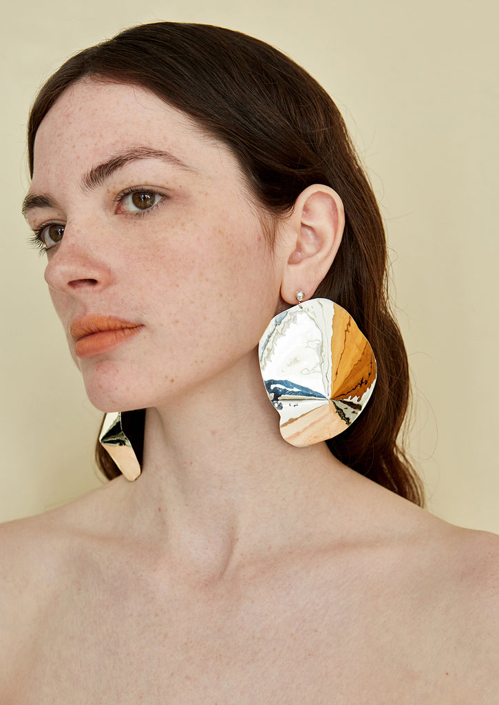 ARAPED LARGE EARRINGS