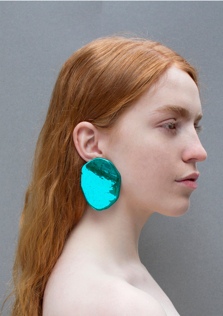 REFLECTION ELECTRIC EMROD EARRINGS