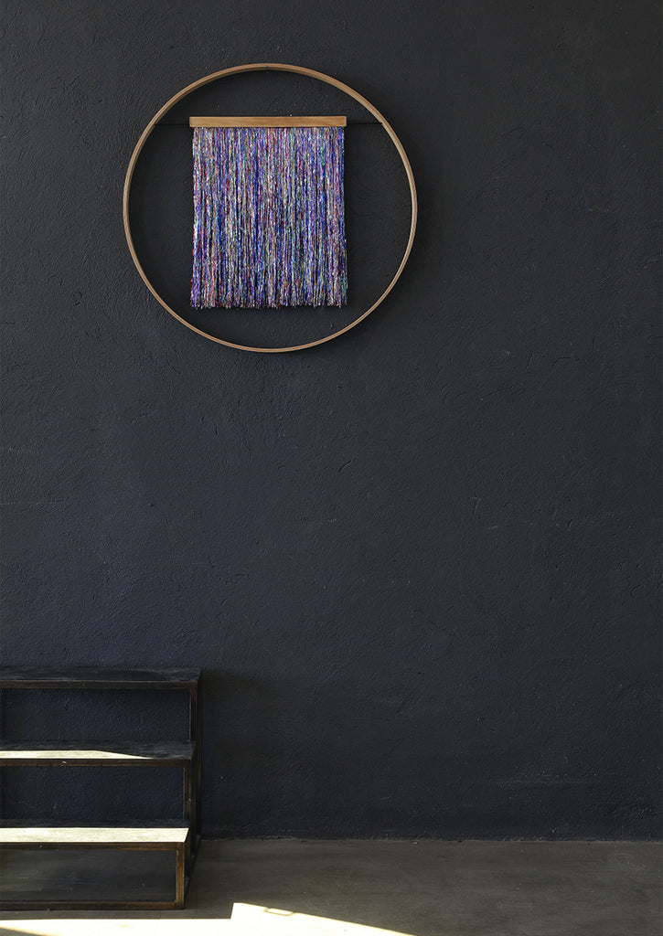 SIXZERO MULTICOLOR METALLIC WALL HANGING