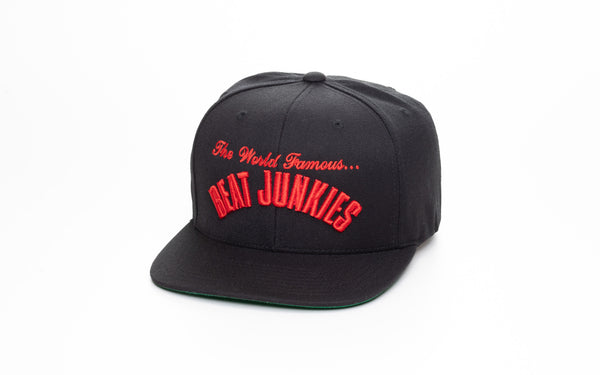 Mobb Junkies Black x Red Script