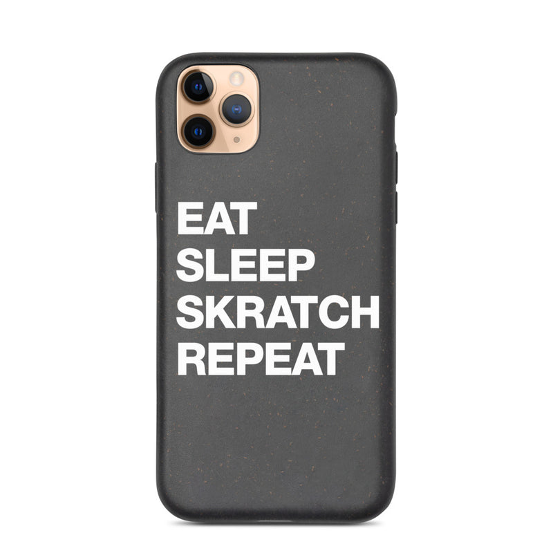Eat Sleep Skratch Repeat iphone case