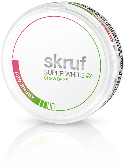 Super White Red Rhuby by Skruf