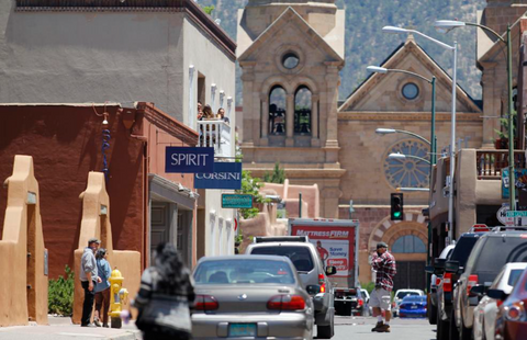 Uli leads Santa Fe merchants who want to create an open pedestrian street