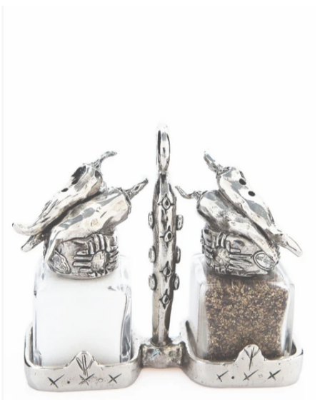 Locally Handmade Salt and Pepper Shakers