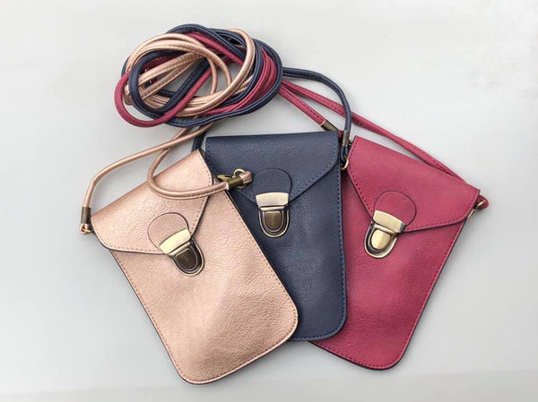Cross-Body Cell Phone Purses in Multiple Colors