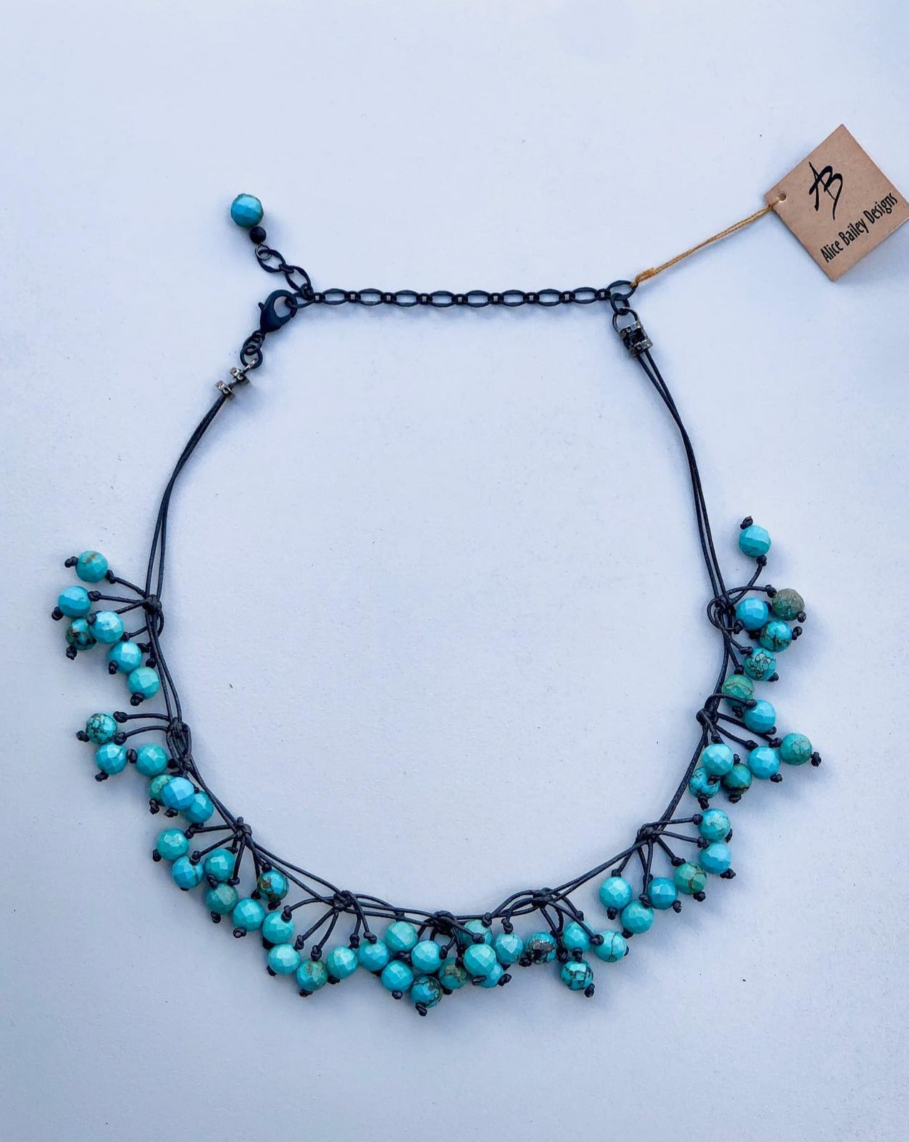 Turquoise, Beaded Necklace