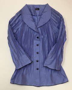 Periwinkle, Ruched Blouse