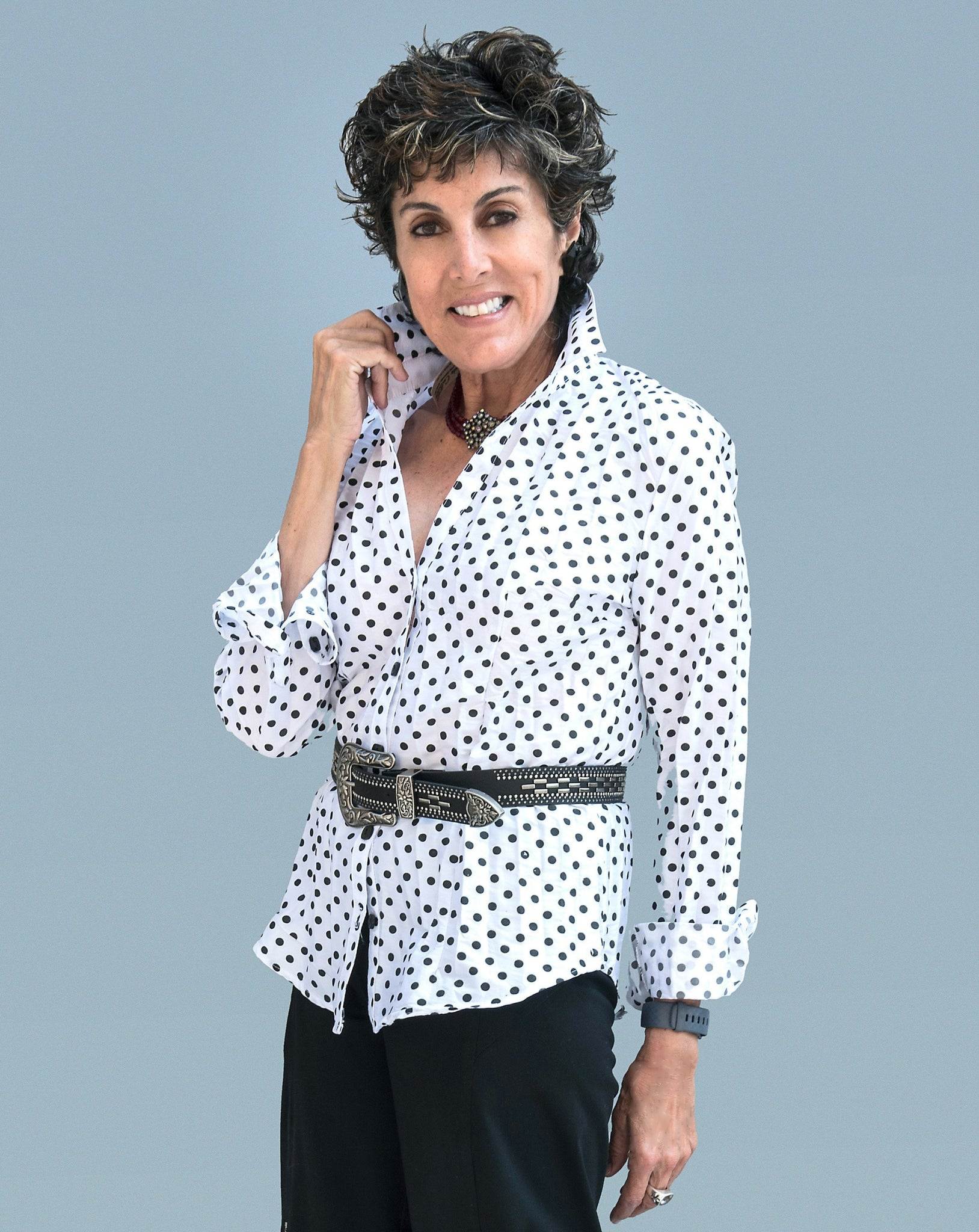 Women's Polka Dot Blouse