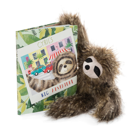 """Cyril's Big Adventure"" Children's Book with Cyril Sloth"