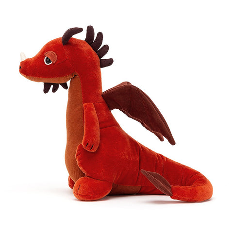 Paprika Dragon Stuffed Animal