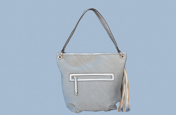 Finely woven purse