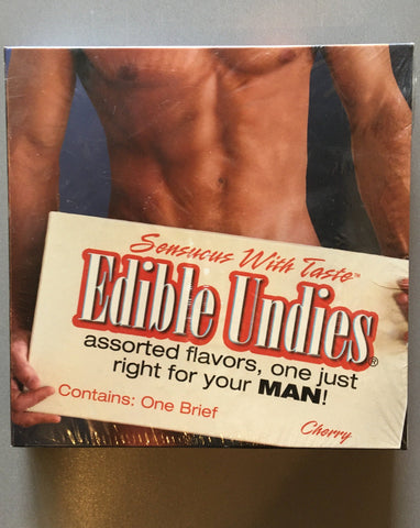 Edible Undies for Men- Cherry Flavored