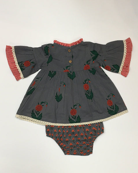 Girls' Dress with Bloomers