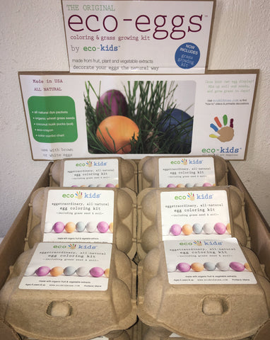 Eco-Kids All Natural Egg Coloring Kit