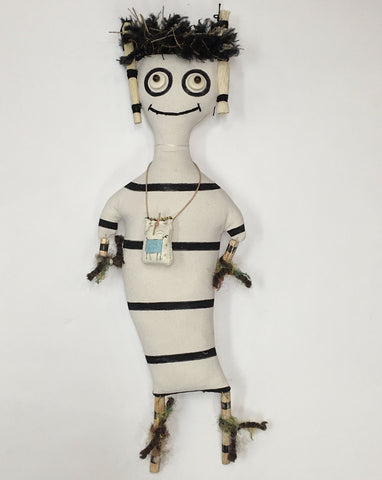 "Petroglyph Doll, ""Koshari,"" (Medium Size)"