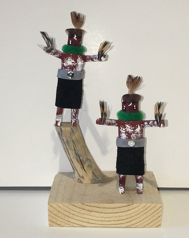 """Morning Singers"" Handmade Kachinas, 6"""