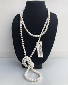 Long Strand of Pearls, Necklace