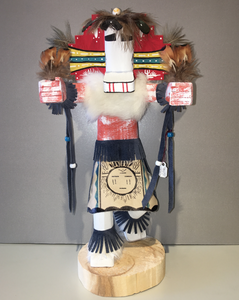 """Cloud Dancer,"" Navajo Handmade Kachina, 14"""