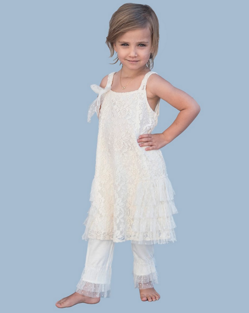 Girl's Lace Dress