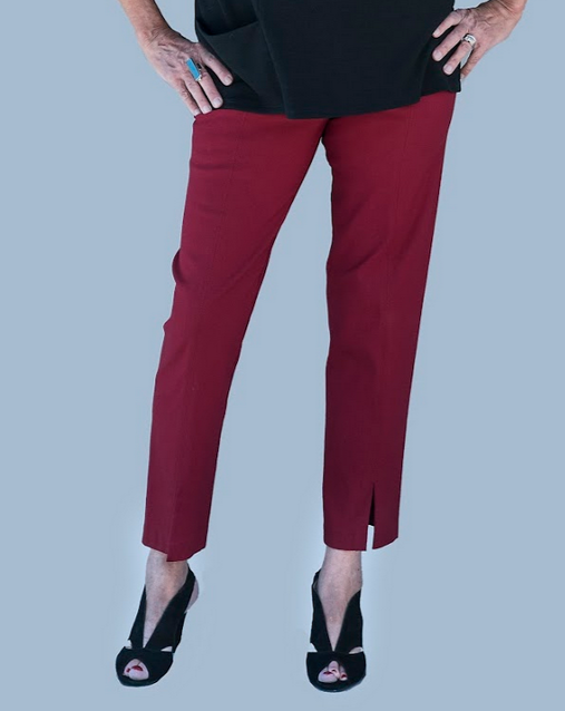 Mesmerize Pants in Burgundy
