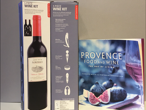 French Cookbook Plus Wine Kit
