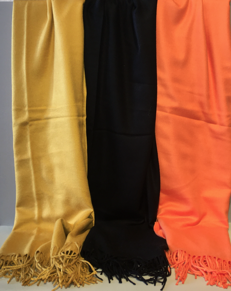 Cashmere Scarves in Multiple Colors