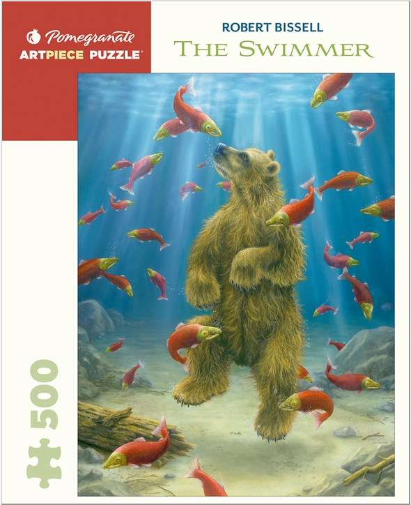 The Bear Swimmer, 500 Piece Puzzle
