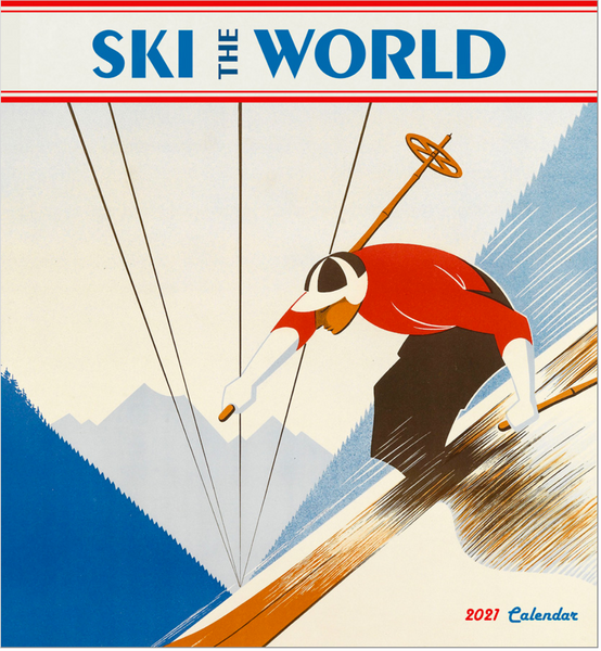 """Ski the World"" 2021 Calendar"