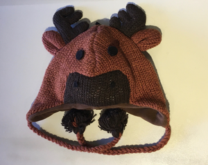 Children's Wool Moose Hat